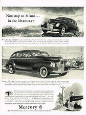 Vintage 1940 Magazine Ad Mercury 8 Welcome Economy Of Operation In Luxurious Car