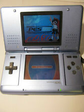 Nintendo DS Electric Blue Handheld System With PES 2008 Game