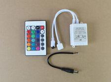 Set of 24 key DC 12V 2A IR Remote Controller For RGB 5050 3528 Leds Light Strips