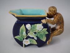 George Jones Majolica monkey creamer