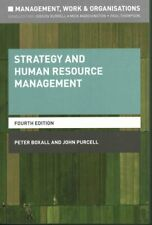 Strategy and Human Resource Management by John Purcell 9781137407634 | Brand New