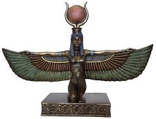 Veronese Bronze Figurine Egyptian Goddess Isis Spreading wings statue