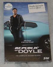 Republic of Doyle COMPLET SAISON 2 DEUX - DVD Coffret - NOUVEAU & scellé