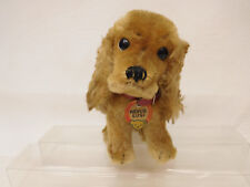 MES-57598Älterer Steiff Hund mit Holzwollstopfung H:ca.175mm