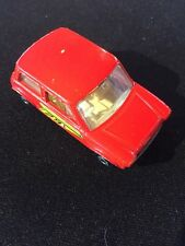 1970 MATCHBOX RACING MINI-NO. 29 RED WITH WHITE INT. LESNEY Superfast Series