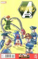 Mighty Avengers #1 Lego Variant NM Marvel Comics 1st Monica Rambeau as Spectrum