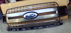 Genuine 2018-2020 OEM Ford F150 XLT Grille w/ emblem (Magnetic Gray)