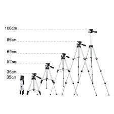 Adjustable Professional Portable Tripod Ball Head for Canon Nikon Camera DSLR DV