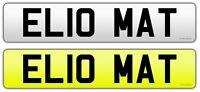 HELLO MATT Personalised car Registration Private number plate MAT Matthew Matty