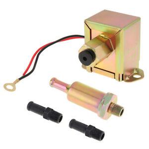Universal 12V Petrol Gasoline Electric Fuel Pump 3797522 4299544  Low Pressure