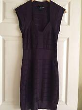 French Connection Woman's Bodycon Bandage Purple Dress – Sz 6