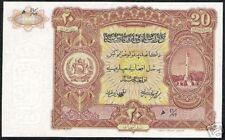 AFGHANISTAN 20 AFGHANIS P18 1936 MINARET UNC WORLD MONEY BILL ASIA BANK NOTE