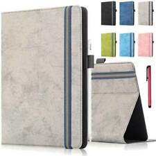 """For Samsung Galaxy Tab 3 4 E 7"""" 8"""" 9.6"""" Universal Leather Flip Stand Case Cover"""