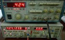 Hameg Hm8001 2 Mainframe With Hm8027 Distortion Meter Hm8021 3 Counter Excellent