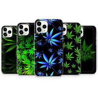 Unkraut Cannabis Art Gel Handyhülle für iPhone SE 5 6 7 8 11 XS XR Pro Max