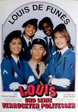 LOUIS UND SEINE VERRÜCKTEN POLITESSEN - 1982 - Filmplakat - De Funes - Poster