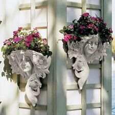 Design Toscano NG302819 Le Printemps and Le Etoile French Greenmen Wall Sculptur