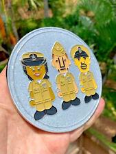 Navy Chief Rare Glitter Silver Unity CPO Challenge Coin