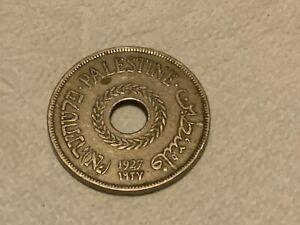 Palestine 1927 20 Mils Coin