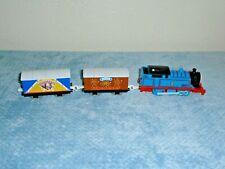 Thomas Trackmaster Engine Carnival Car & Fireworks Box Cars