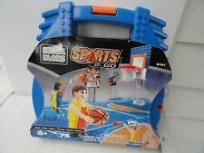 MEGA BLOKS Sports 2-Go Portable Basketball Set Age 5+ *NIP* (75 Pcs)~travel fun