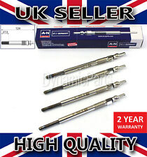 4X HEATER GLOW PLUGS FOR FORD C-MAX FOCUS MK2 1.6 TDCI 2S6Q6M090BA