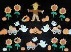 Vintage+Cutter+Quilt+Appliques+%7E+Pumpkin+Patch+%7E+Scarecrow+%26+Sunflowers%21