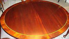 Henkel Harris OVAL  Mahogany Dining Table