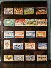 Montserrat Aircraft & Aviation Stamps Lot of 21 - MNH  - See List for Details