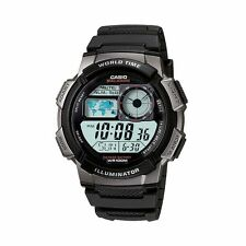 Casio AE1000W-1BV Men's Illuminator wrist Watch World Time LED Alarms Signal