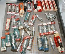 39 small groups & Orphans NOS Champion Motorcraft etc Spark plugs  Free Ship USA