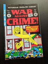 War Against Crime #4 EC Reprint Comic 2000, FREE UK POSTAGE