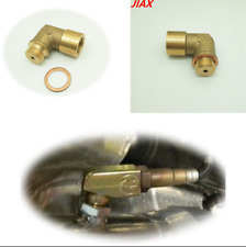 Bung Extension Spacer M18 X 1.5 O2 Oxygen Sensor Extender 90 Degree Angled