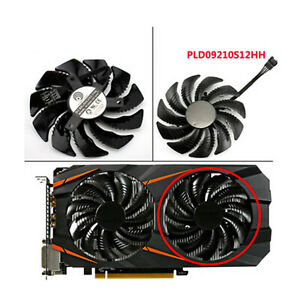 For Gigabyte GTX 1060 1070 T129215SU / PLD09210S12HH Graphics Card Cooling Fan