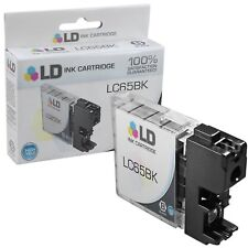 LD LC65BK LC65 Black Ink Cartridge for Brother Printer