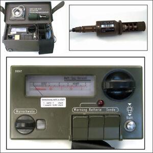 FAG Kugelfischer SV500 Geigerzähler Strahlungsmessgerät Version 2 geprüft tested