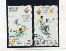 Yibuti Mundial de Futbol España 82 Serie del año 1981 (DQ-264)