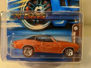 1970 Chevrolet Chevelle - 2006 Hot Wheels Mail in Mystery car -  1/64 Red