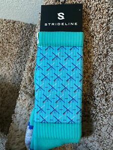 Strideline socks City Line Portland PDX carpet