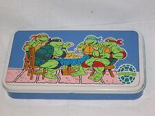 Teenage Mutant Ninja Turtles Pencil Tin Mirage Studios The Tin Box Company 1989