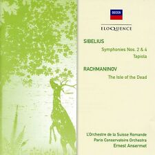 Ernest Amseret - Sibelius: Sym Nos 2 & 4 / Rachmaninov: Isle [New CD] Australia