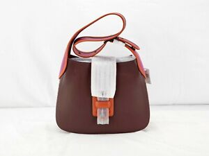 New in Box Coach Courier Hobo Bag in Brown and Pink - BBJ974