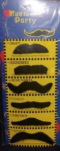 Mustache party 54 Fake mustaches  great fun, USA seller
