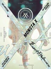 MONSTA X 1st Album [BEAUTIFUL] Brilliant Ver. CD+Post Photo+Booklet+Photocard