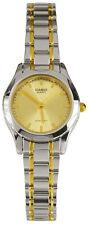 Casio LTP1275SG-9A Ladies Silver Gold Watch Stainless Steel Quartz Dress New