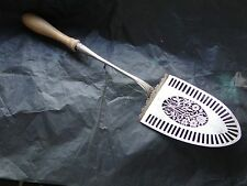 SERVING TROWEL, STERLING SILVER AUSTRO HUNGARIAN, 1860, FULLY MARKED