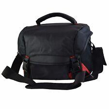 Camera Shoulder Bag Case For DSLR Cameras and Accessories (Black)