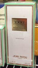 Jean Patou 1000 3.0 Vintage Perfume EDT Discontinued