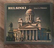 Helsinki Coffee Table Book of Photos & Information by Matti A. Pitkanen