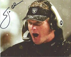 JON GRUDEN Signed 8.5 x 11 Photo Signed REPRINT Football Coach OAKLAND RAIDERS